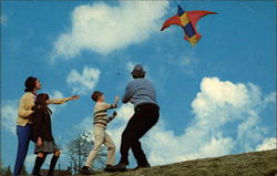 Enjoying Life With a Space-Bird Kite