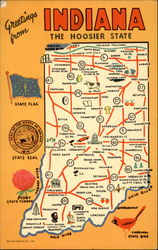 "Greetings from Indiana - ""The Hoosier State"""