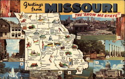 "Greetings From Missouri, The ""Show Me State"""