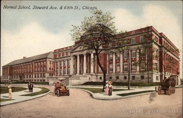 Normal School, Steward Ave. & 68th St Chicago Illinois
