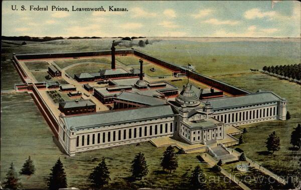 U S Federal Prison Leavenworth Ks