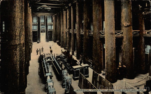 Interior, Forestry Building Portland Oregon