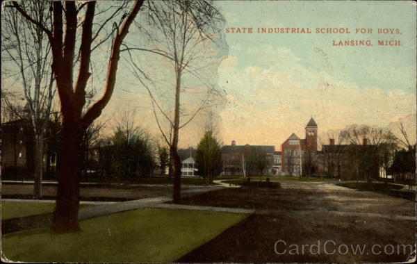 State Industrial School for Boys Lansing Michigan