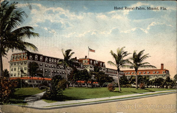 Hotel Royal Palm Miami Florida