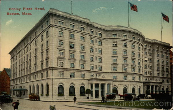 Copley Plaza Hotel Boston Massachusetts