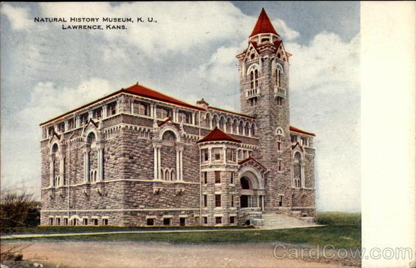 Natural History Museum, K. U Lawrence Kansas