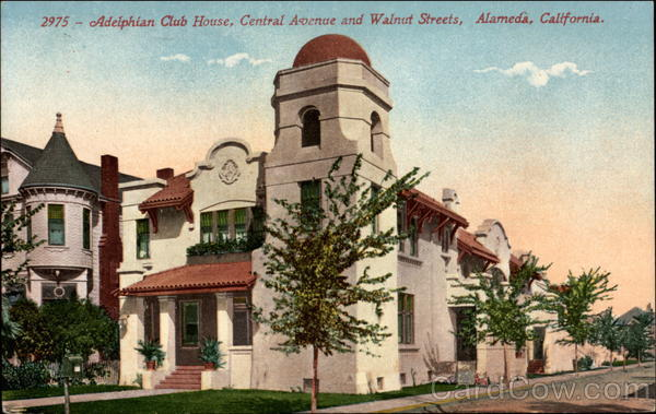 Adelphian Club House, Central Avenue and Walnuts Streets Alameda California