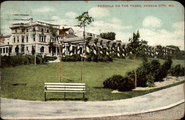 Pergola on the Paseo Kansas City Missouri