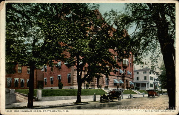Rockingham Hotel Portsmouth New Hampshire