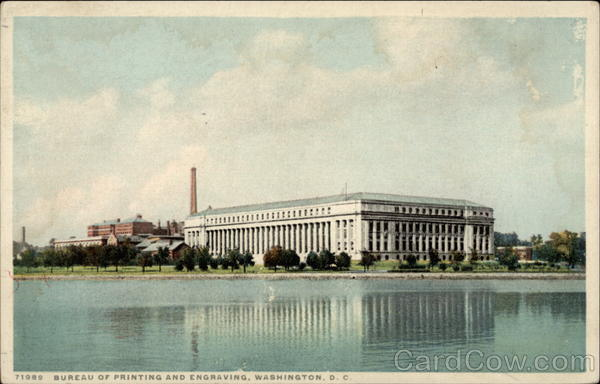 Bureau of Printing and Engraving Washington District of Columbia
