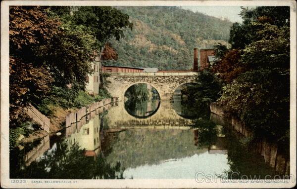 Canal Bellows Falls Vt