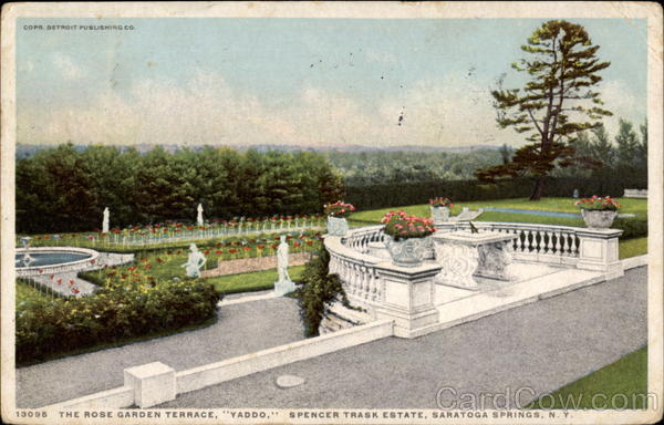 The Rose Garden Terrace Saratoga Springs New York