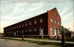 A typical U.S. Army Commissary at the War College