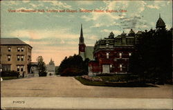 View of Memorial Hall, Library and Chapel, Soldiers' Home