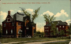 Hedge Laboratory and Roger Williams Hall, Bates College
