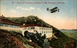 Tavern of Tamalpais and Summit of Mt. Tamalpais