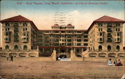 Hotel Virginia - on Line of Southern Pacific Postcard