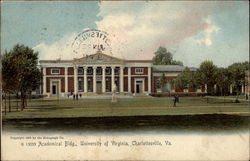 Academical Bldg., University Of Virginia