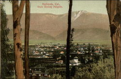 Redlands, California, from Smiley Heights