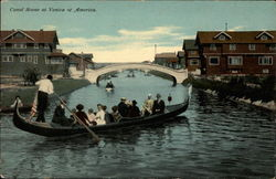 Canal Scene at Venice of America