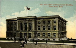 New Post Office and Government Building