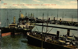 Section of Galveston Harbor