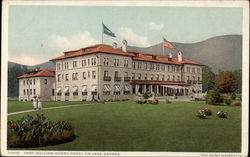 For William Henry Hotel on Lake George Postcard