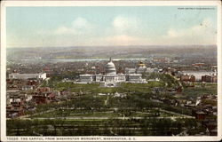 The Capital, from Washington Monument