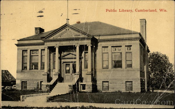 Public Library Cumberland Wisconsin
