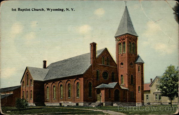 1st Baptist Church Wyoming New York