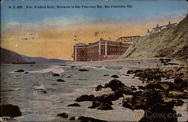 Fort Winfield Scott, Entrance to San Francisco Bay California