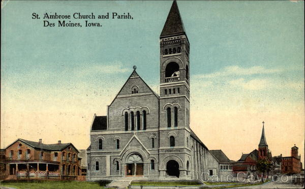 St. Ambrose Church and Parish Des Moines Iowa