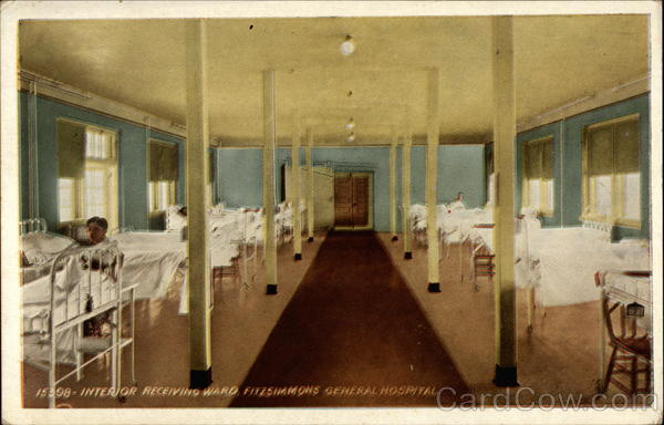 Interior Receiving Ward, Fitzsimmons General Hospital Aurora Colorado