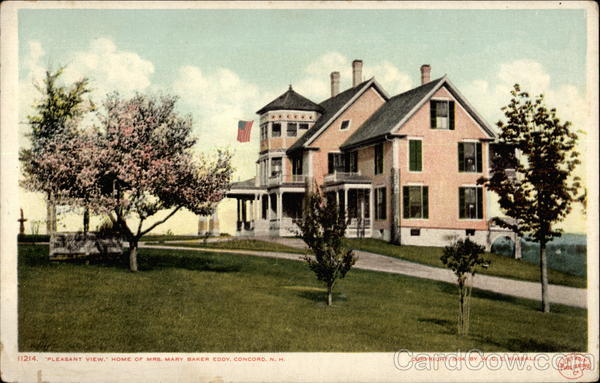 11214. Pleasant View Home of Mrs. Mary Baker Eddy, Concord, N.H New Hampshire