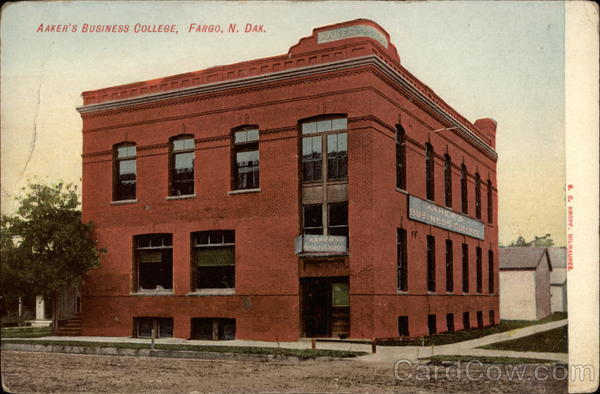 Aaker's Business College Fargo North Dakota