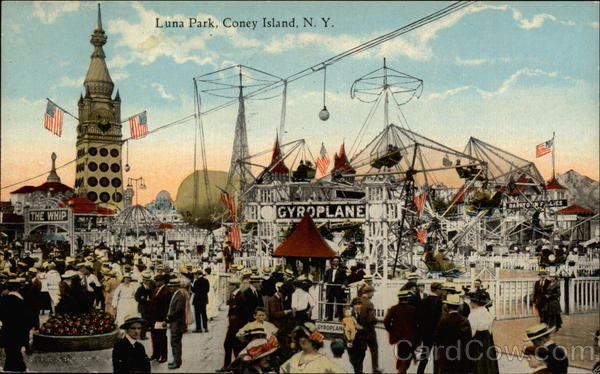 Luna Park Coney Island New York
