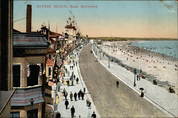 Boulevard Revere Beach Massachusetts