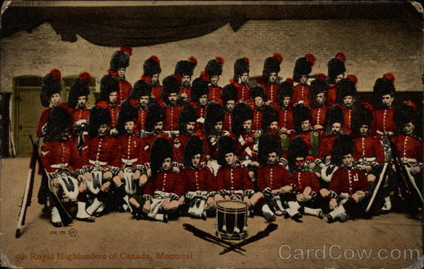 5th Royal Highlanders of Canada Montreal Quebec