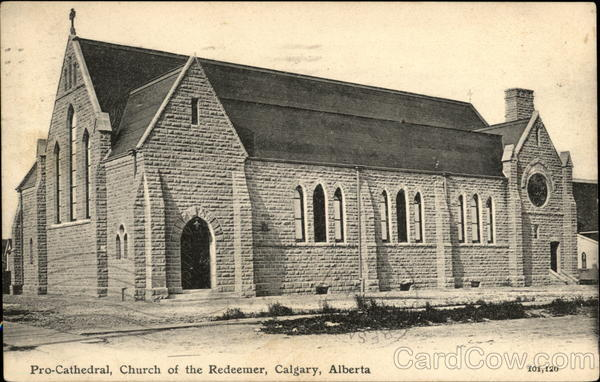 Pro-Cathedral, Church of the Redeemer Calgary Canada