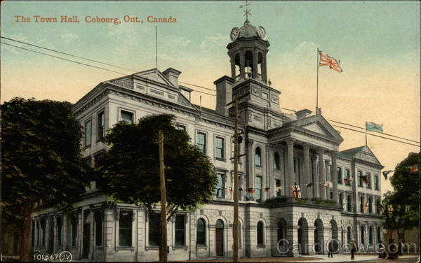 The Town Hall, Cobourg, Ont., Canada Ontario