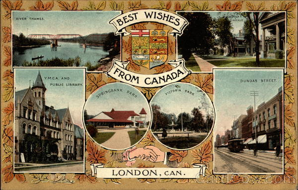 Best Wishes from Canada London Misc. Canada