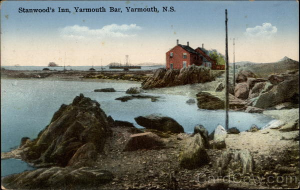 Stanwood's Inn, Yarmouth Bar Canada Nova Scotia