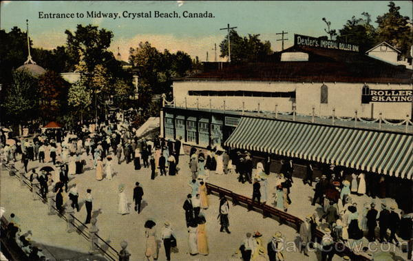 Entrance to Midway Crystal Beach Canada Quebec