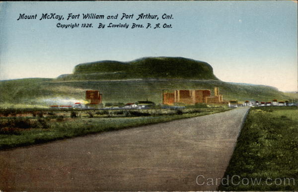 Mount McKay Fort William Canada Ontario