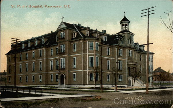 St. Paul's Hospital Vancouver Canada British Columbia