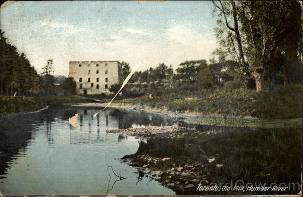 Old Mill, Humber River Toronto Canada Ontario