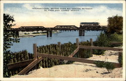 International Bridge Over Rio Grande