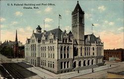 U. S. Federal Building and Post Office Postcard