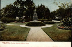 Central Fountain, Soldiers Home