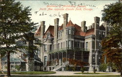 Residence of Archbishop Feehan, North Ave. opposite Lincoln Park Postcard